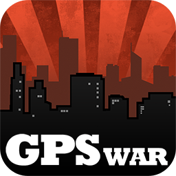 Turf Wars Location-Based Game Logo